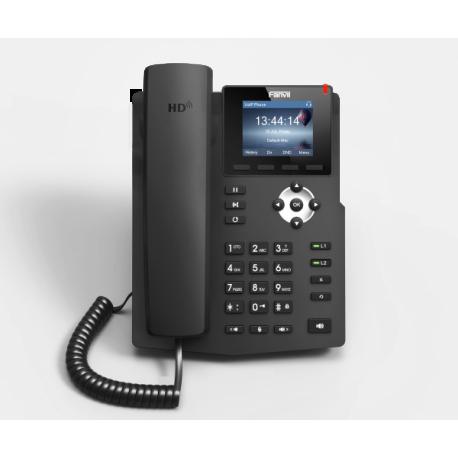 تلفن ویپ تحت شبکه IP PHONE FANVIL X3S