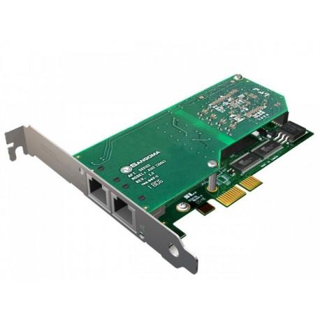 Card A102DE T1/E1 Sangoma